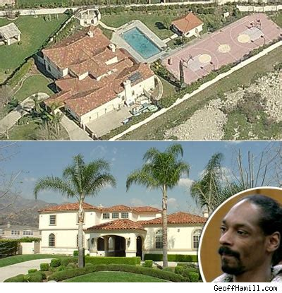 Snoop Dogg Slangin His Crib Tmz Com