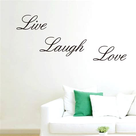 In The Garden Wall Stickers Home Garden Home Decor Live Laugh Wall Quote Wall