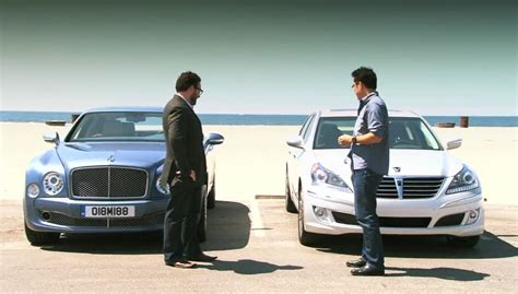 bentley hyundai video mt compares the bentley mulsanne to the hyundai
