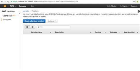 aws lambda tutorial node js 用 node js 和 aws lambda 创建无服务器的微服务 可译网