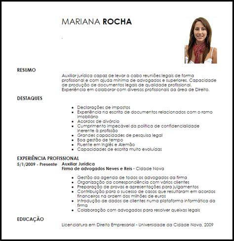 Modelo De Curriculum Vitae Persona Juridica Modelo Curriculum Vitae Auxiliar Jur 237 Dica Livecareer