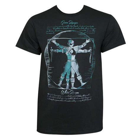 Power White Shirt power rangers s black fusion t shirt superheroden