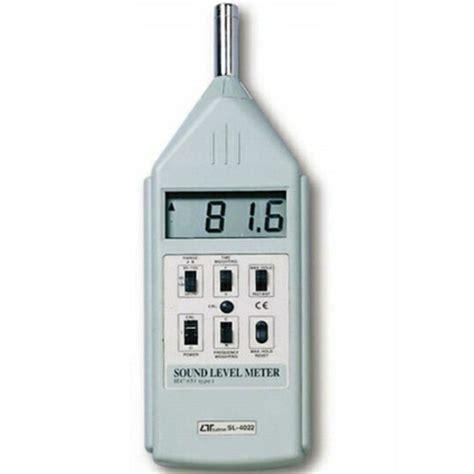 Lutron Sl 4012 Digital Sound Level Meter Sl4012 alat untuk mengukur kerasnya bunyi meter digital