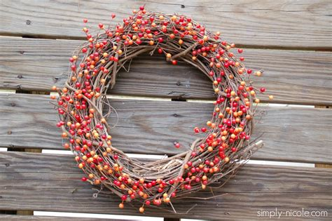 diy wreath 20 fall accents to incorporate into your welcome wreath