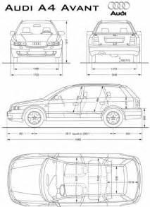the blueprints blueprints gt cars gt audi gt audi a4 avant