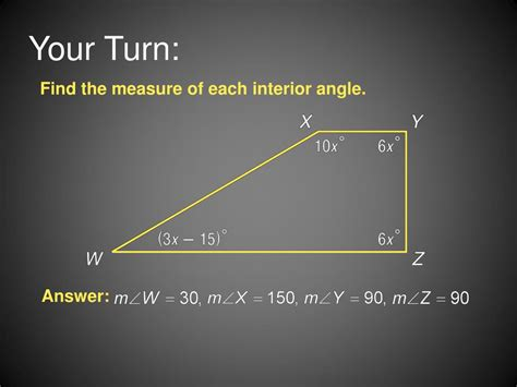 How To Find The Interior Angle Of A Hexagon by Ppt 8 1 Angles Of Polygons Powerpoint Presentation Id