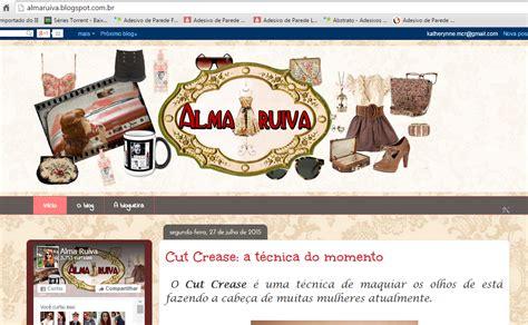 layout novo blog alma ruiva novo layout do blog