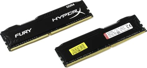 Kingston Hyperx Fury Ddr4 2400 8gb Hx424c15fbk2 8 Black1 kingston hyperx fury 4 x 2 dimm ddr4 2400