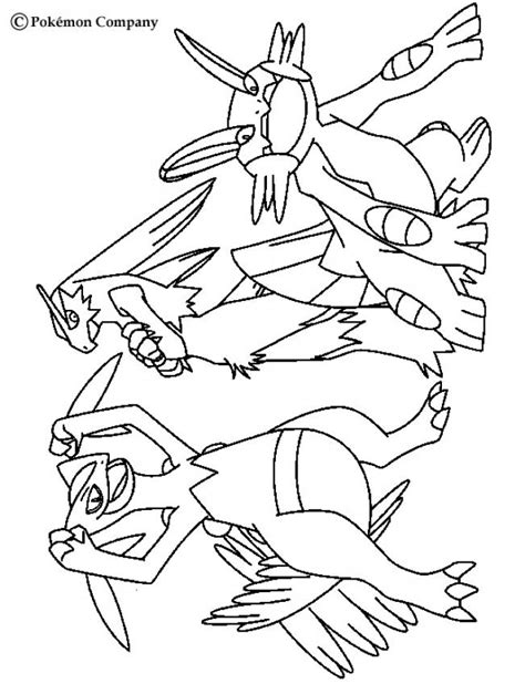 Coloring Pages Of Pokemon Omega Ruby