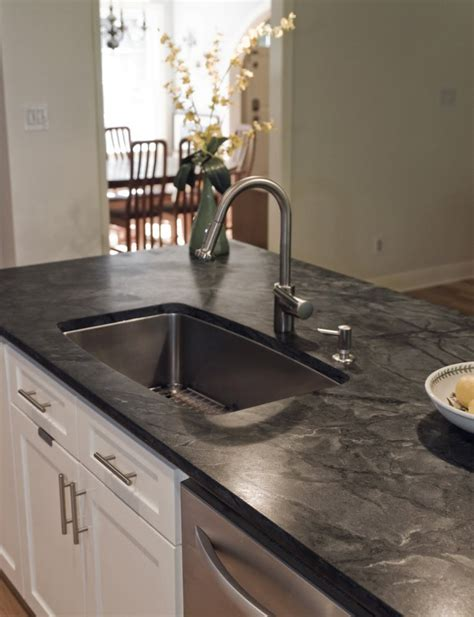 Black Soapstone Countertop by 10 Most Popular Kitchen Countertops