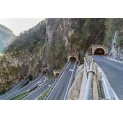 Paso San Boldo Italia  Carreteras Peligrosas