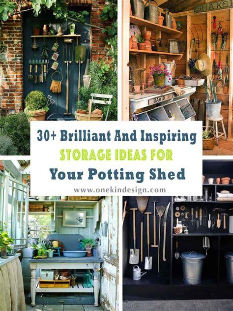 brilliant  inspiring storage ideas   potting