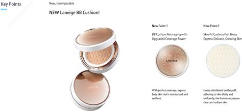 Bb Cushion Anti Aging With Refill new laneige bb cushion anti aging 15g a refill 15g with