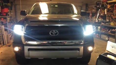 2014 Toyota Tundra Lights Not Working by 2014 Toyota Tundra 1794 Edition Diy Projector Headlight
