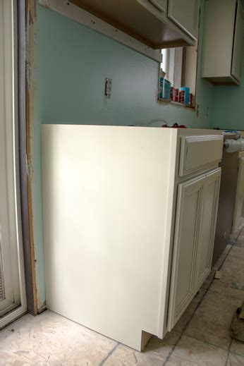 installing kitchen base cabinets yourself base cabinets installation help doityourself com