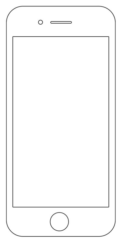 Anyone Know Where I Can Find Phone Hardware Templates To Show Off Work Tools Ux Mastery Phone Template