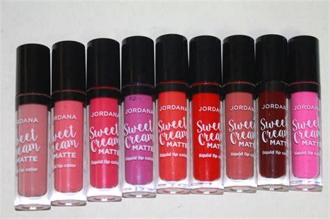 Jordana Sweet Matte Liquid Lipstick Diskon new jordana sweet matte liquid lipsticks swatches review friends and pet