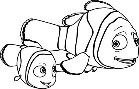 nemo coloring pages marlin from finding nemo coloring pages sketch coloring page