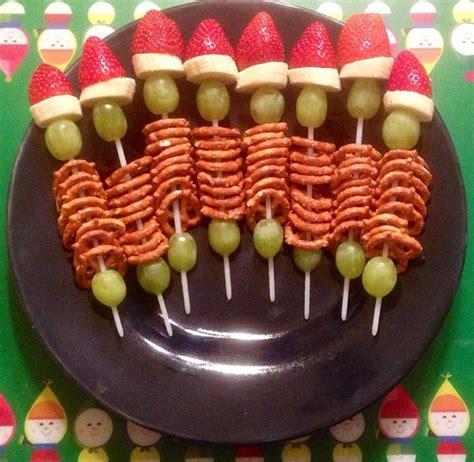 christmas snacks for preschool kindergarten class snack my take on grinch kabobs itsallaboutamy santa baby 12