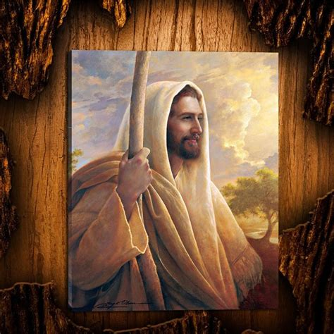 jesus christ lds greg olsenhd canvas print home