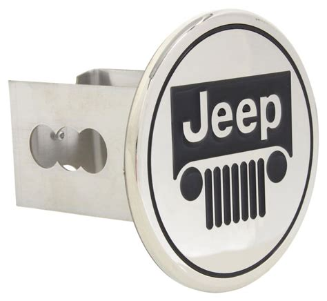 Jeep Hitch Covers Jeep Trailer Hitch Cover 2 Quot Hitches Stainless Steel