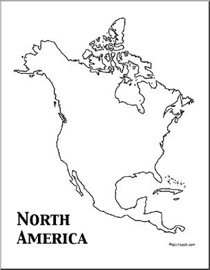coloring page for north america 32 best images about north america on pinterest canada