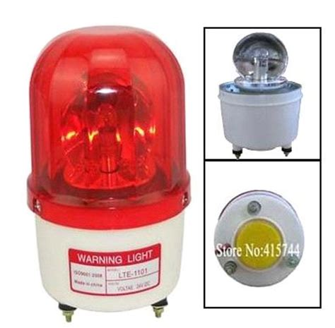 Alarm Light by Buzzer 110db Lighting Bulb Traffic Warning Beacon Light