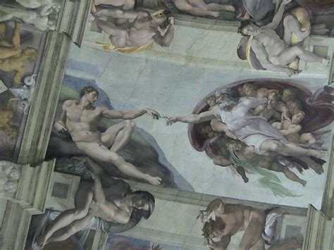 Chappel by Famous Michael Angelo Paintings On Top Inside Sistine