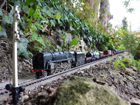 Garden Railroad dorking garden railway in 00 scale garden