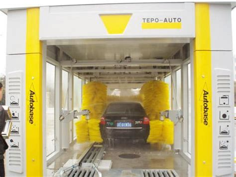 Car Wash Types by Swing Arm Design Car Wash Systems Tepo Auto Tp 901 Tunnel