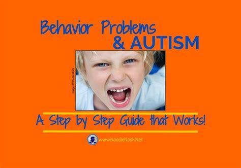 behavior problems addressing behavior problems autism noodlenook net