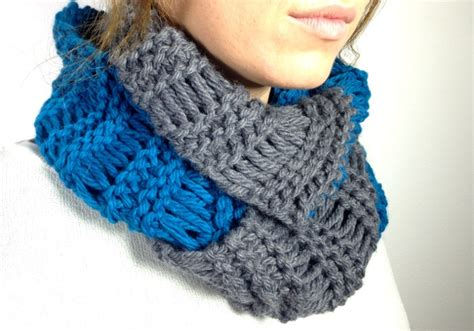 circle loom knitting scarf bufanda