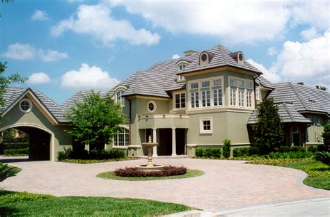 Chateauesque House Plans by Tom Price Architect French Chateauesque Home Central