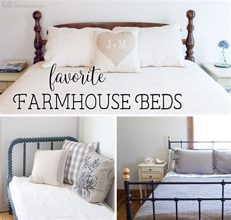 farmhouse style bedroom furniture favorite farmhouse beds hello farmhouse