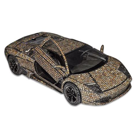 silver and gold lamborghini lamborghini car by jacob co 18k rose gold and silver