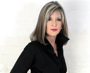 what color low lights look with white grey hair grey highlights while hair turning grey dark brown hairs