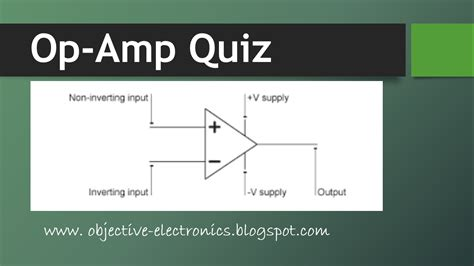 quiz questions on linear integrated circuits operational lifier quiz
