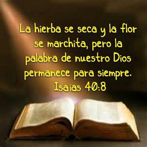 imagenes espirituales con texto isaias 40 8 versiculos biblicos pinterest