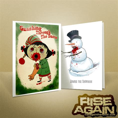 Printable Zombie Cards | free zombie christmas stuff zombie christmas games gift