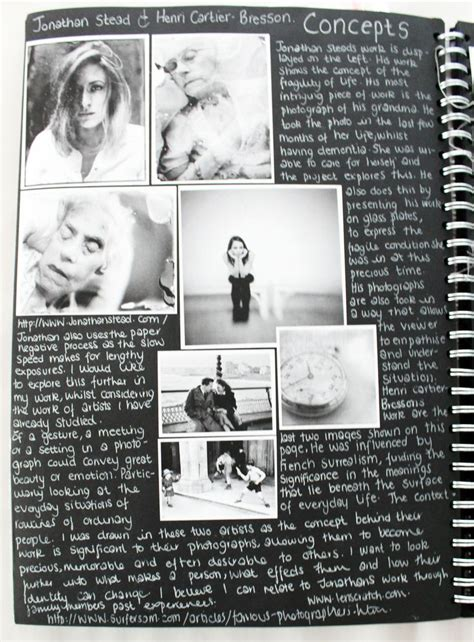sketchbook artist size books al photography a3 black sketchbook concept page cswk