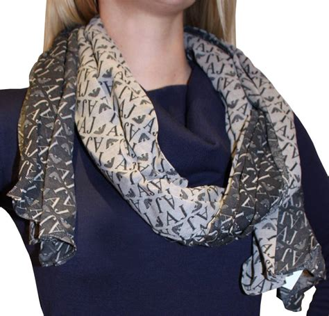 armani logo scarf accessories from