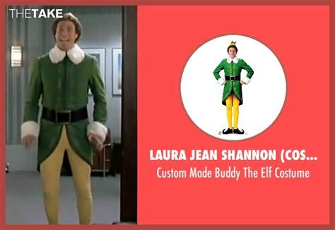 will ferrell elf costume will ferrell laura jean shannon costume designer custom