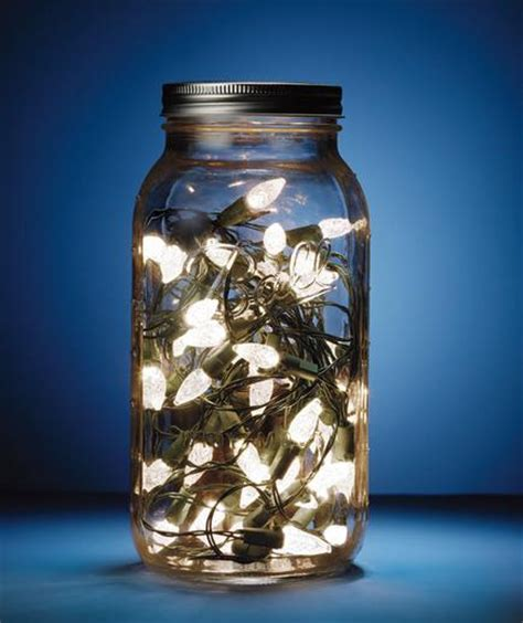 40 Christmas Light Decorations In A Jar All About Christmas Light Jars