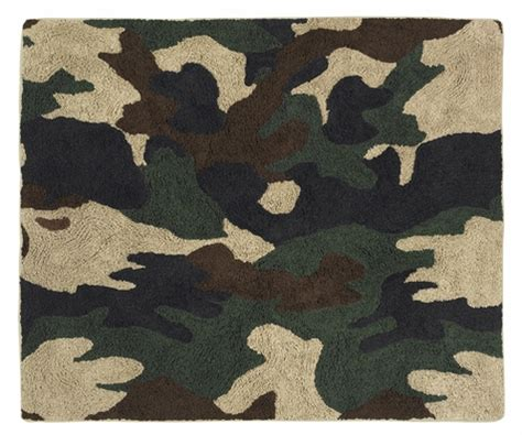 Infantry Rug by Green Camo Accent Floor Rug Only 44 99