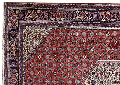 ardebil carpet home office knotted rug 8x11