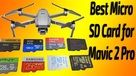 micro sd card  mavic  pro youtube