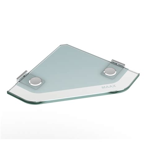 glass bathroom tray shop maax utile frosted with chrome hardware glass vanity