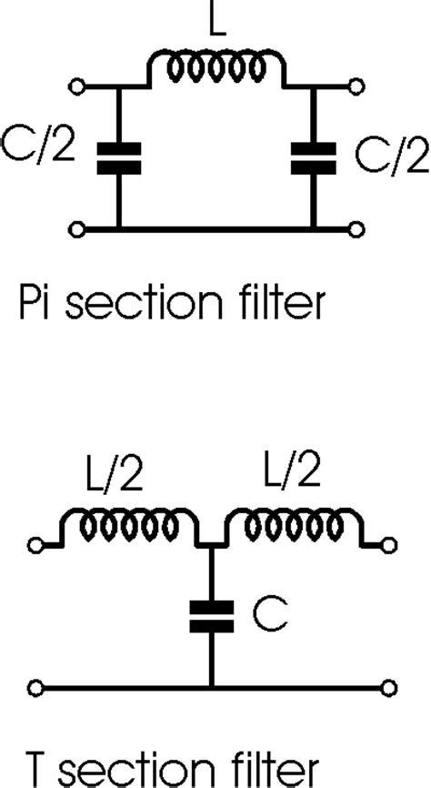 high pass filter lc circuit lc low pass filter circuit radio electronics