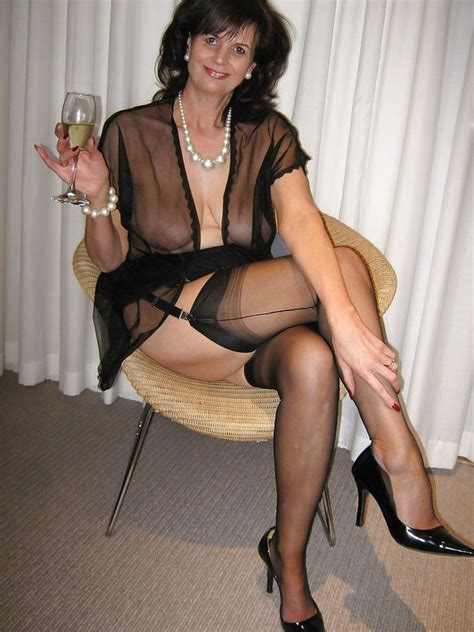 mature clothes pinterest dirty gilf wearing seductive see through dress and