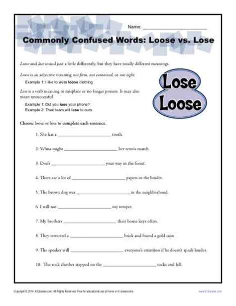 Commonly Misspelled Words Worksheet by Commonly Misused Words Worksheet Worksheets Releaseboard